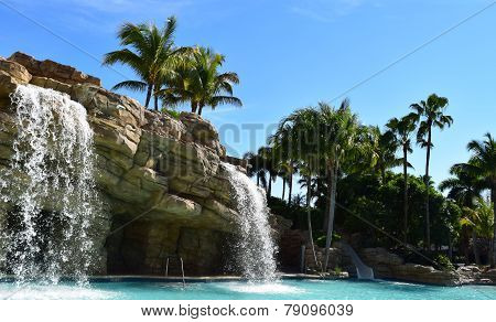 Hard Rock Waterfall Pair