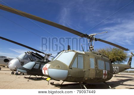 Bell Uh-1H Iroquois Medivac