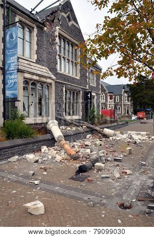 Christchurch Earthquake - Arts Centre Damage