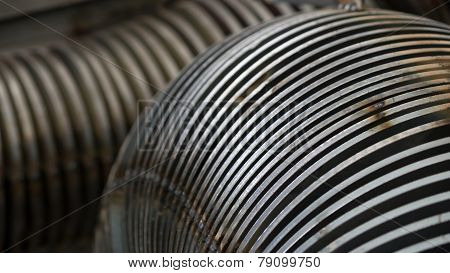 Industrial Steel Components Abstract