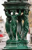 foto of sobriety  - Paris Wallace Fountain artistic french fountain detail - JPG