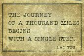 image of mile  - journey of a thousand miles  - JPG