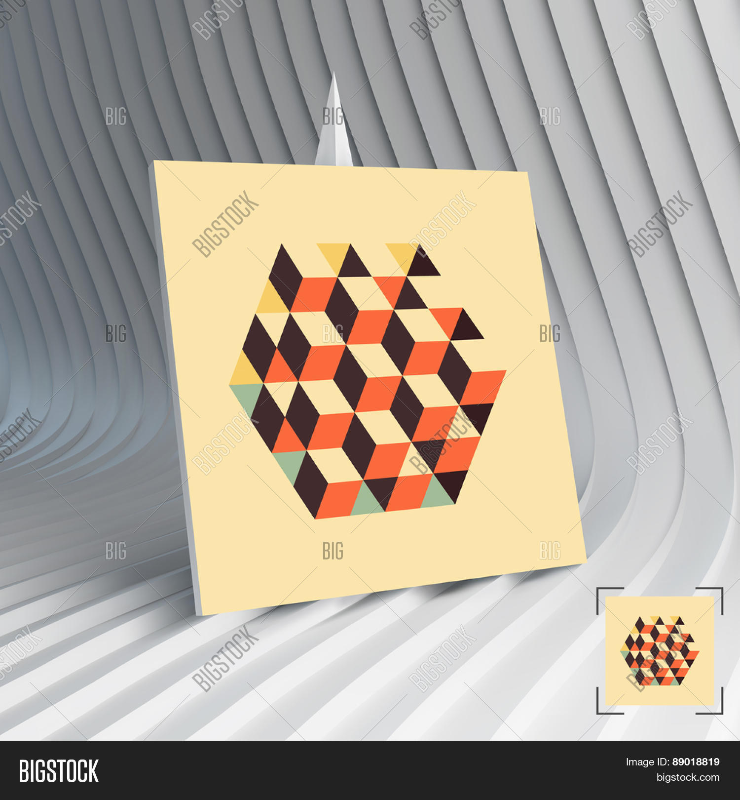 Business card hexagon shape cubes vector photo bigstock business card hexagon shape with cubes inscribed can be used for advertising marketing magicingreecefo Choice Image