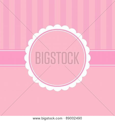Cute Template Greeting Card