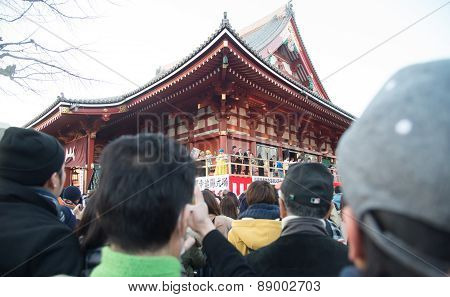 Canvas Event At Senjoji Temple In Japan