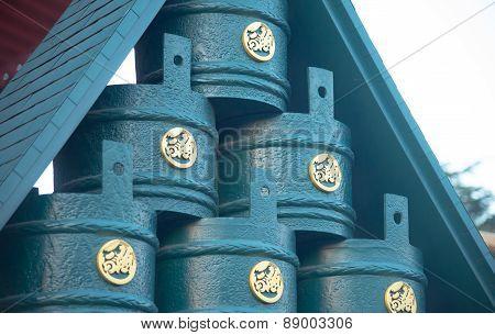 Senjoji Temple Decoration Exteroir
