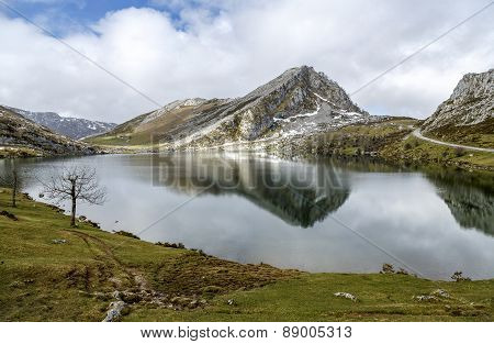Lake Enol Covadfonga, Spain