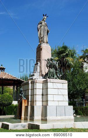 Religious monument, Priego de Cordoba.