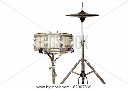 Snare And Hihat Equipment For Drum Set