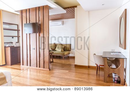 room in a hotel