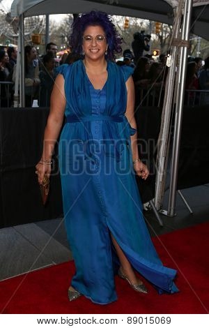 NEW YORK-APR 21: Writer/producer/director Jenji Kohan attends the 2015 Time 100 Gala at Frederick P. Rose Hall, Jazz at Lincoln Center on April 21, 2015 in New York City.