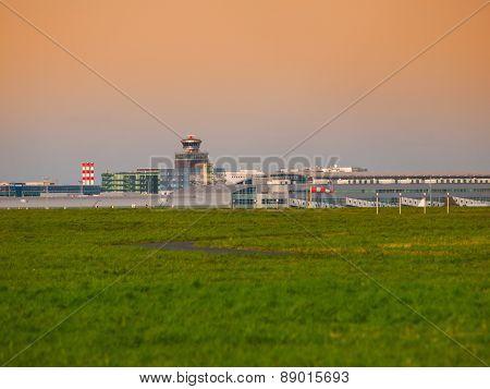 Airport panorama