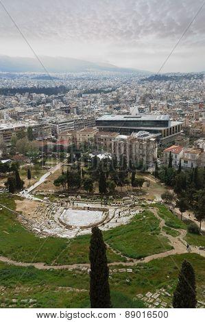 Theatre Dionysus Eleuthereus N Athens