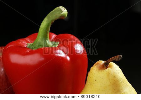 Pear, Apple And Sweet Pepper