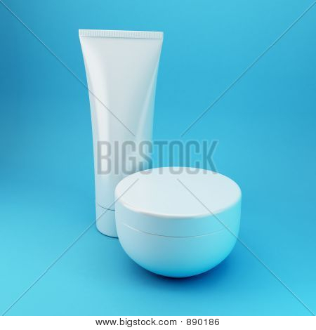 Cosmetic Products 4 - Blue