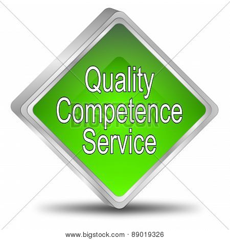 Quality Competence Service Button