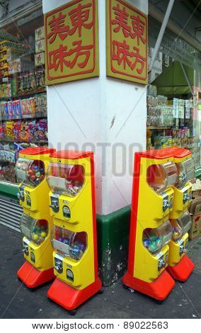 Capsule Toy Vending Machines