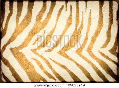 Texture of paper with animal skin pattern