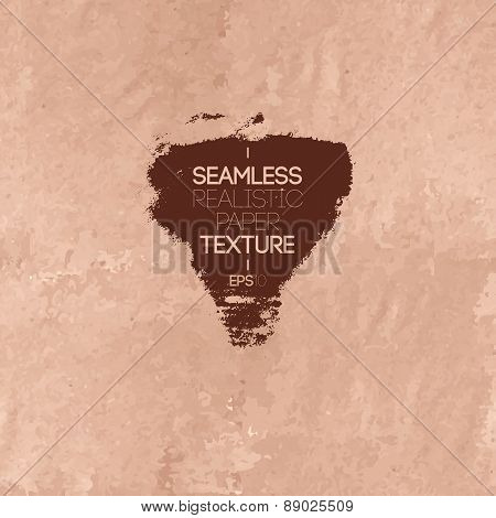Vintage Realistic Paper Seamless Texture