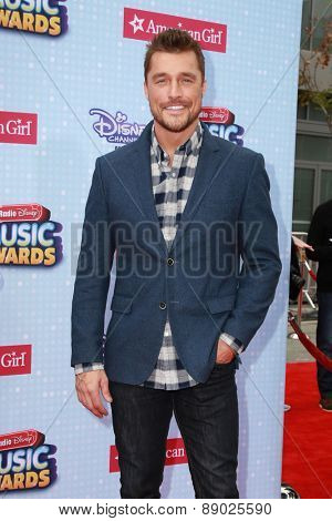 LOS ANGELES - APR 25:  Chriss Soules at the Radio DIsney Music Awards 2015 at the Nokia Theater on April 25, 2015 in Los Angeles, CA