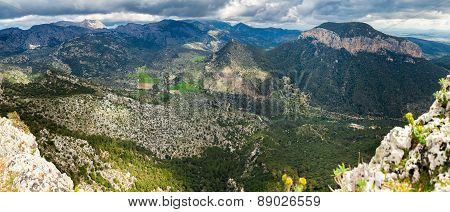 Highland Regions Near Alaro, Majorca