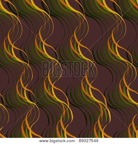 Seamless Pattern. Trendy Vector Texture. Stylish Background With Diagonal Direction