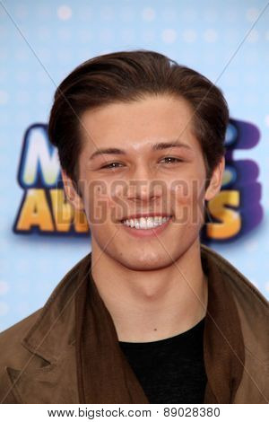 LOS ANGELES - APR 25:  Leo Howard at the Radio DIsney Music Awards 2015 at the Nokia Theater on April 25, 2015 in Los Angeles, CA