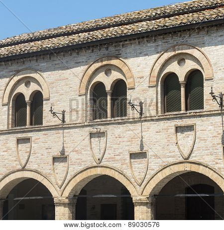 Montelupone (marches, Italy)