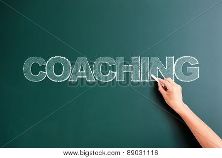writing coaching on blackboard