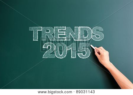 writing trends 2015 on blackboard