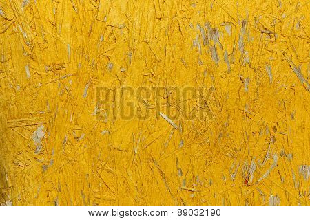 Textured Abstract Background In Yellow Color