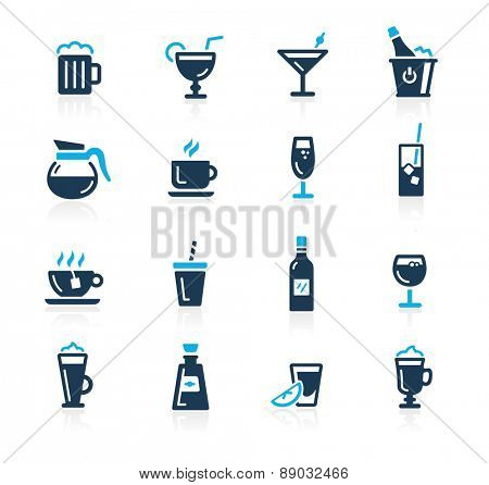 Drinks Icons // Azure Series