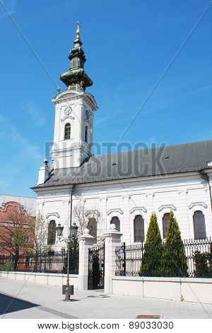 Saborna Church, One Of The Attractions Of Novi Sad