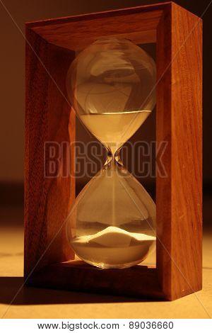 Hourglass countdown