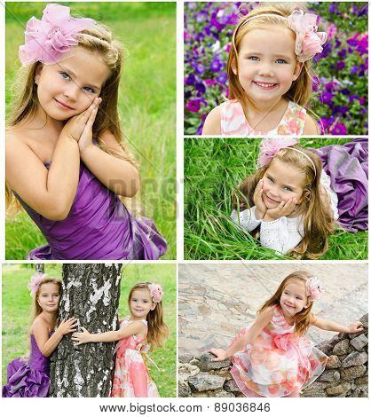 Collection Of Photos Adorable Smiling Little Girls