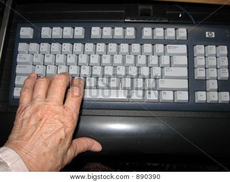 Woman'S Handon Keyboard