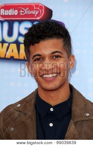 LOS ANGELES - APR 25:  Jordan Fisher at the Radio DIsney Music Awards 2015 at the Nokia Theater on April 25, 2015 in Los Angeles, CA