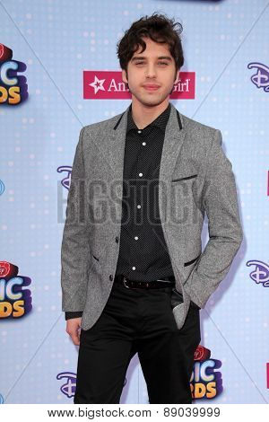 LOS ANGELES - APR 25:  David Lambert at the Radio DIsney Music Awards 2015 at the Nokia Theater on April 25, 2015 in Los Angeles, CA