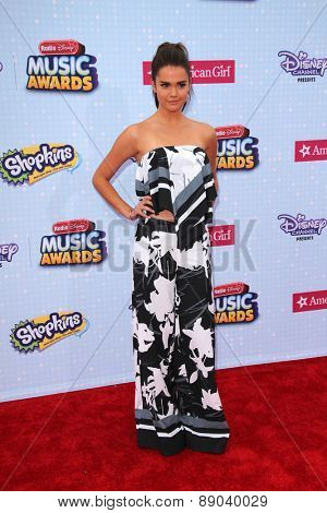 LOS ANGELES - APR 25:  Maia Mitchell at the Radio DIsney Music Awards 2015 at the Nokia Theater on April 25, 2015 in Los Angeles, CA