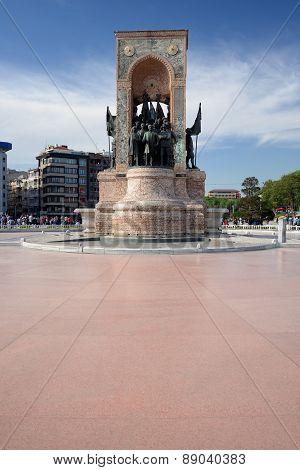 Taksim Square, Istanbul, Turkey.