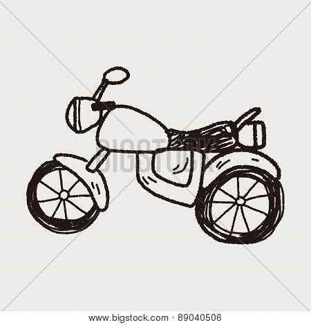 Motorcycle Doodle