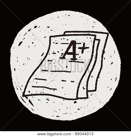 Test Papper Doodle