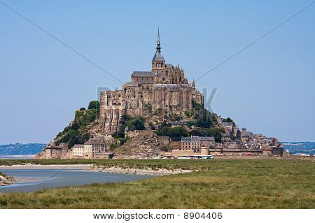 Saint Mont Michel, Medieval Abbey In France