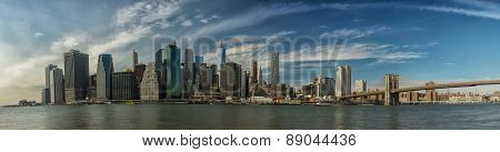 Nyc Manhattan Panorama