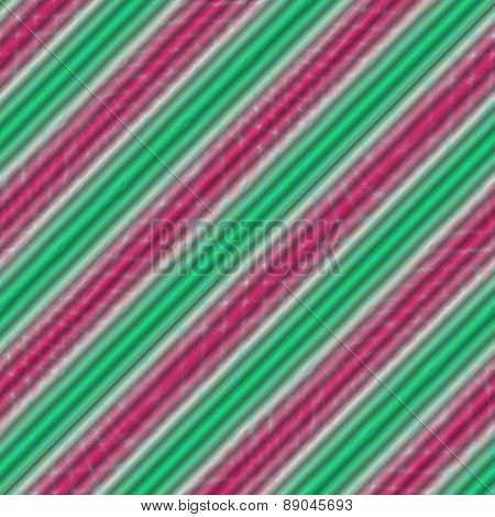 Green white pink striped background