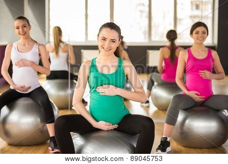 Pregnant Woman Fitness
