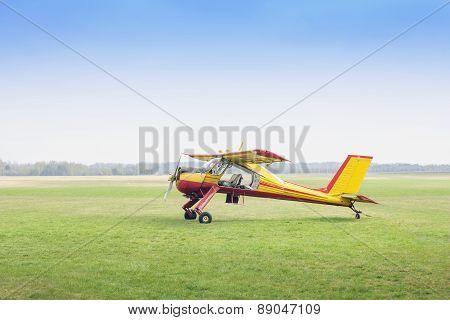 Aeroplane Pzl-104 Wilga