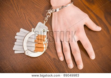 Hands With Handcuffs.