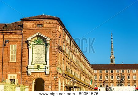 Royal Armoury And Royal Library In Turin - Italy