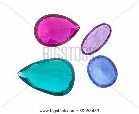 Beautiful Glowing Gems